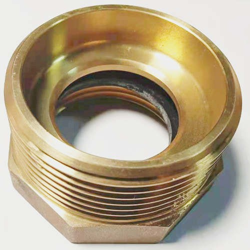 Fire Brass Hex  Bushing Fitting Adapter 1 1/2''  & 2 1/2'' NST NPT