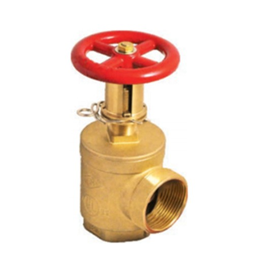 UL UCLFM Brass Pressure Reducing Restricting Device Angle Hose Valve